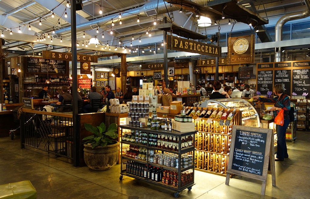 Visit the Oxbow Public Market in Napa
