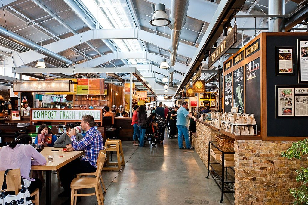 Visit the Oxbow Public Market in downtown Napa