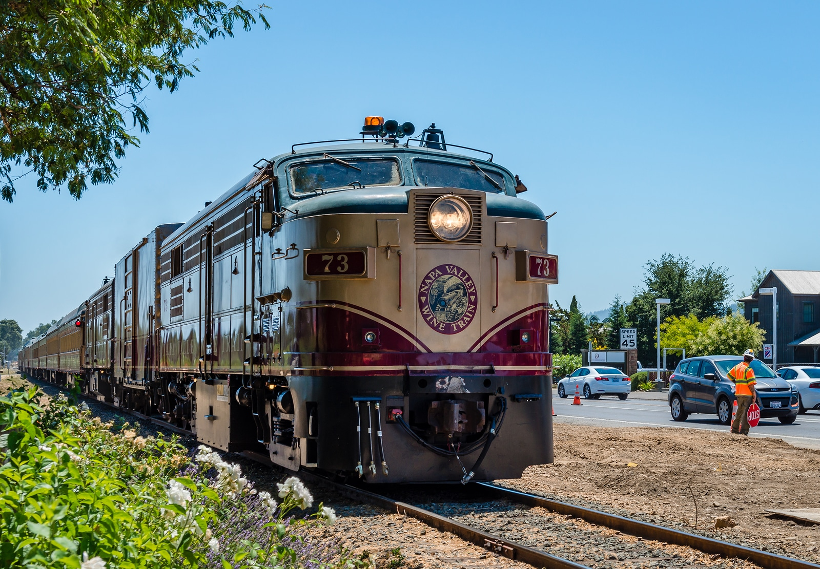 Murder Mystery on the Napa Valley Wine Train