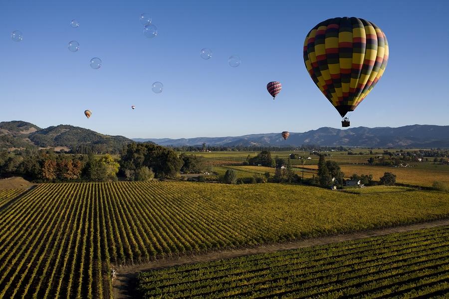 Hot Air Ballooning Napa