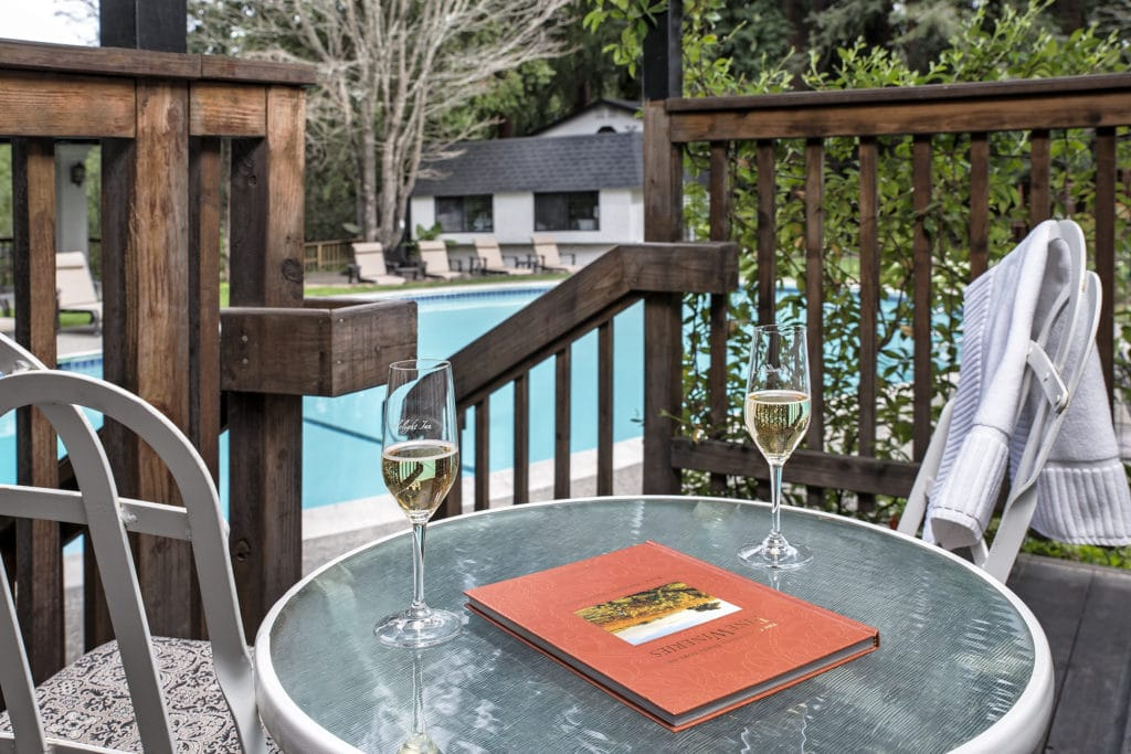 Your wine tasting in Napa can continue right here at our Napa Bed and Breakfast.