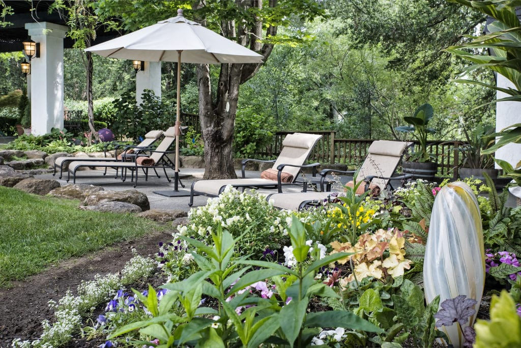 Our Napa Bed and Breakfast offers a soothing atmosphere and welcoming ambience.