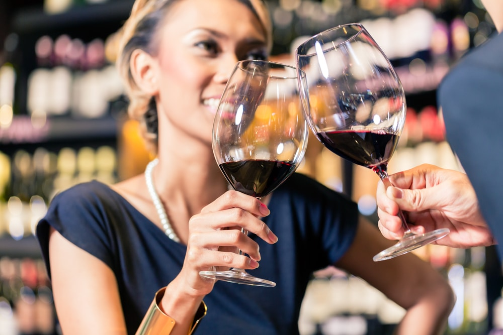 wine tasting in the Napa Valley