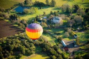 napa hot air balloon